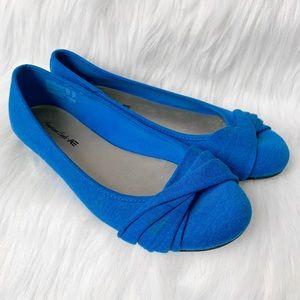 American Eagle Blue Slide On Flat Shoes
